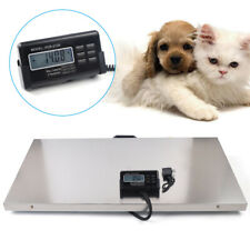 200kg Lcd Digital Stainless Steel Animal Parcel Platform Scale Weighing For Pet