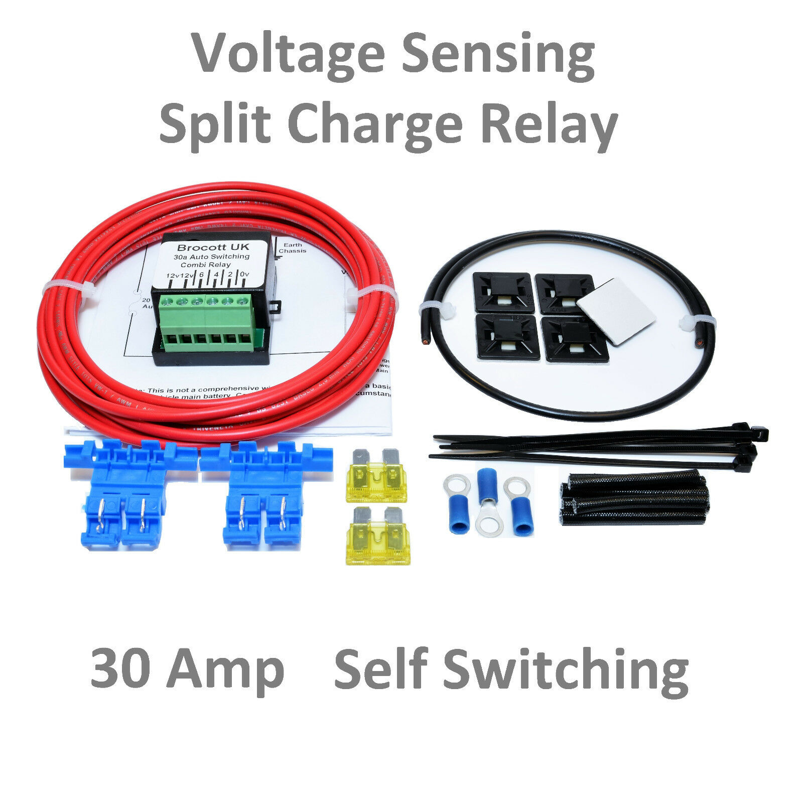 Voltage Sensitive Relay Wiring Motor Home Self Switching Sensing Split Charge Kit Rescontentglobalinflowinflowcomponenttechnicalissues