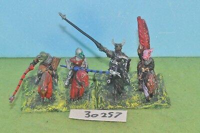 4 Cavalieri Demone Bestie Metallo Sigmar Warhammer Fantasy (30257)-mostra Il Titolo Originale Prezzo Basso