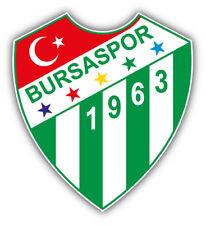 Bursaspor Fc Turkey Soccer Football Car Bumper Sticker Decal 5 X 5