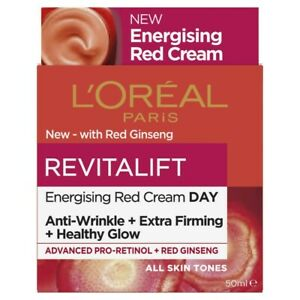 L'Oreal Revitalift Ginseng Glow Energising Day Cream 50mL