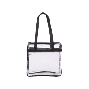 Image Is Loading Clear Purse Handbag Nfl Roved Sized Tote See