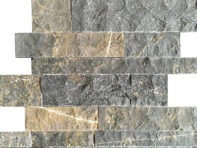 Original Wandverkleidung Wandverblender Steinwand Travertin Black 3d Wohnrausch 1m² Die Nieren NäHren Und Rheuma Lindern Heimwerker