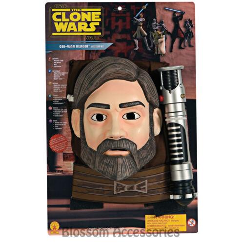 CK324 Star Wars Obi Wan Kenobi Jedi Knight Blister Boys Costume Mask Lightsaber