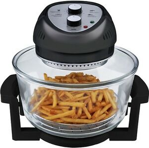 Big Boss Air Fryer 1300-Watt, 16-Quart, Black- As Seen on TV, Brand New!