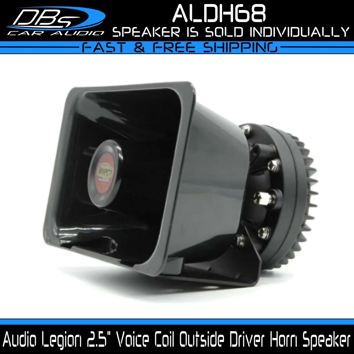 Audio Legion ALDH68 2.5  Phenolic VC Neodymium Driver Horn Loud PA Horn Speaker