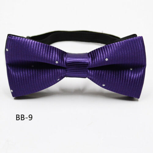 Children Kids Toddler Boys Bowtie Pre Tied Fashion Bow Tie Necktie Wedding Party