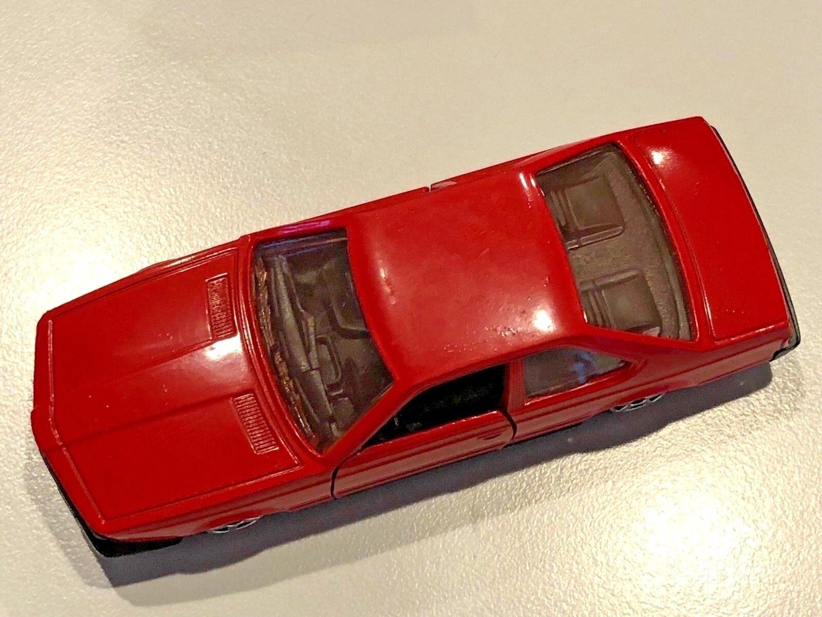Rare, collectable NOREV BMW 630CSi E24 diecast in 1 43 scale rosso