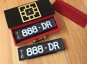 Rare-Lucky-Vic-Number-Plates-888-DR-Suit-Medical-Doctor-Or-PhD-NEW