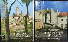 2 Vintage COMPANION GUIDE's MADRID & CENTRAL SPAIN and The South 1973-4 España