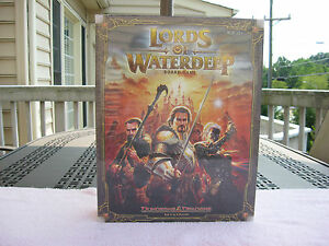 Dungeons-amp-Dragons-034-Lords-of-Waterdeep-034-Board-Game-New-amp-Factory-Sealed