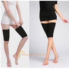 1 Pair Calorie Off Massager Slimming Body Thigh Leg Fat Buster Loss Shaper Black