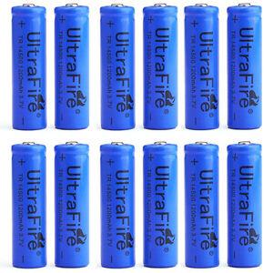 12pcs-UltraFire-TR-14500-Rechargeable-Li-ion-Battery-cell-3-7V-1200mAH-Batteries