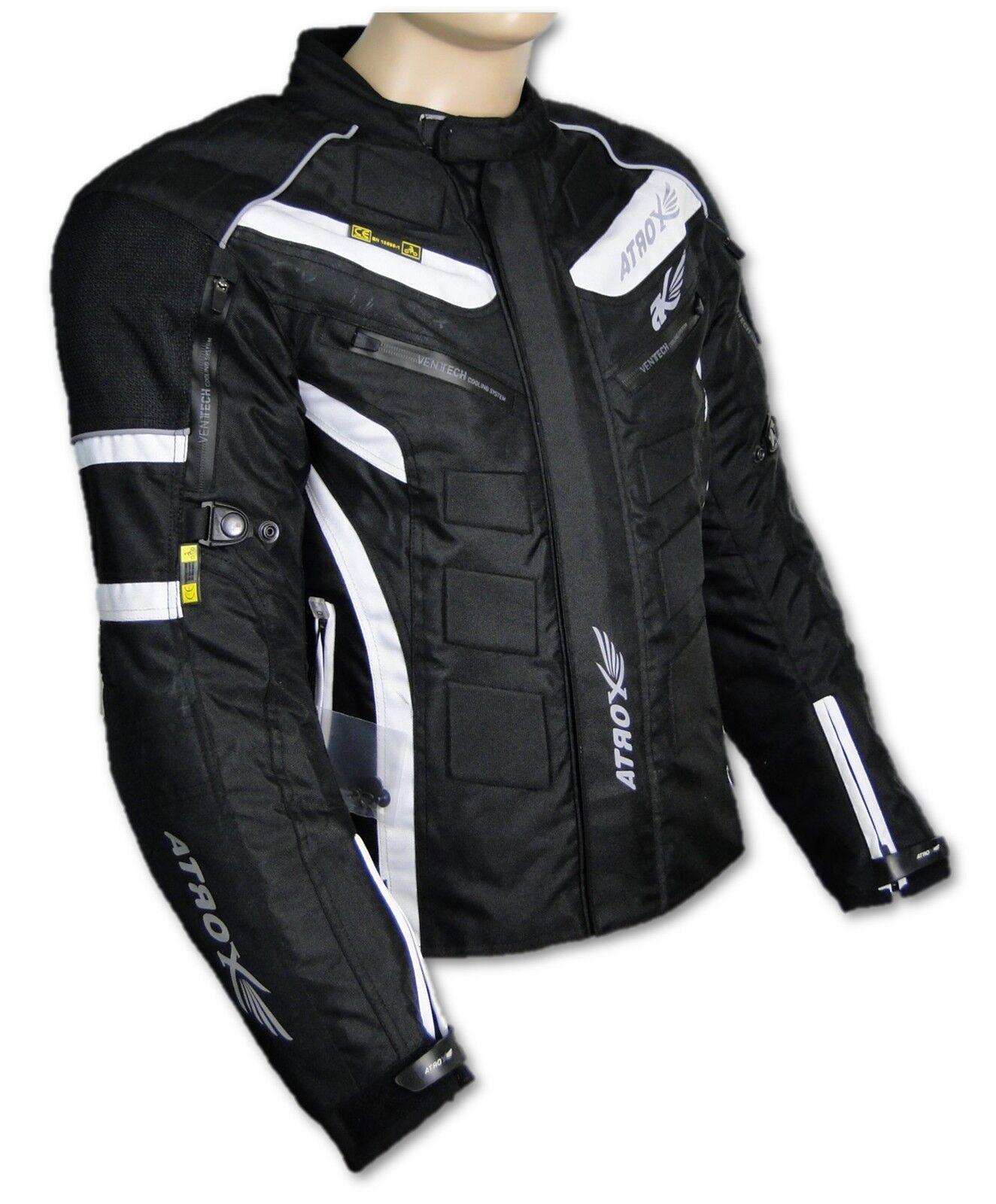 Chaqueta de moto, Cordura Textil ropa Motocicleta ATROX gr. 3xl