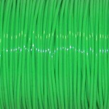 50 YARDS (45m) SPOOL NEON GREEN S'GETTI REXLACE PLASTIC LACING CRAFTS CYBERLOX