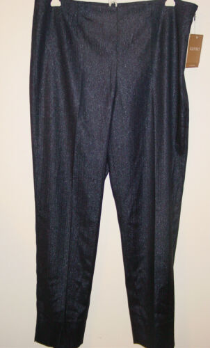 Ellen Setter Party 8 Shimmer Bleu nwt 89 Jet marine Tracy argent brillant 50 Pantalon z6zvnF0xr
