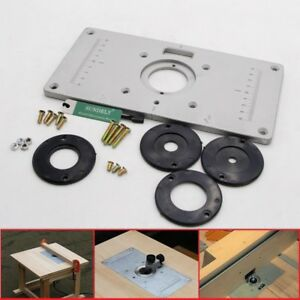 235x120x8mm aluminum router table insert plate insert ring image is loading 235x120x8mm aluminum router table insert plate insert ring keyboard keysfo