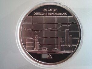 10 Euro Münze 2007 50 Jahre Deutsche Bundesbank Pp Ebay