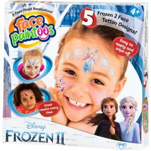 Disney Frozen 2 Face Paintoos Pack