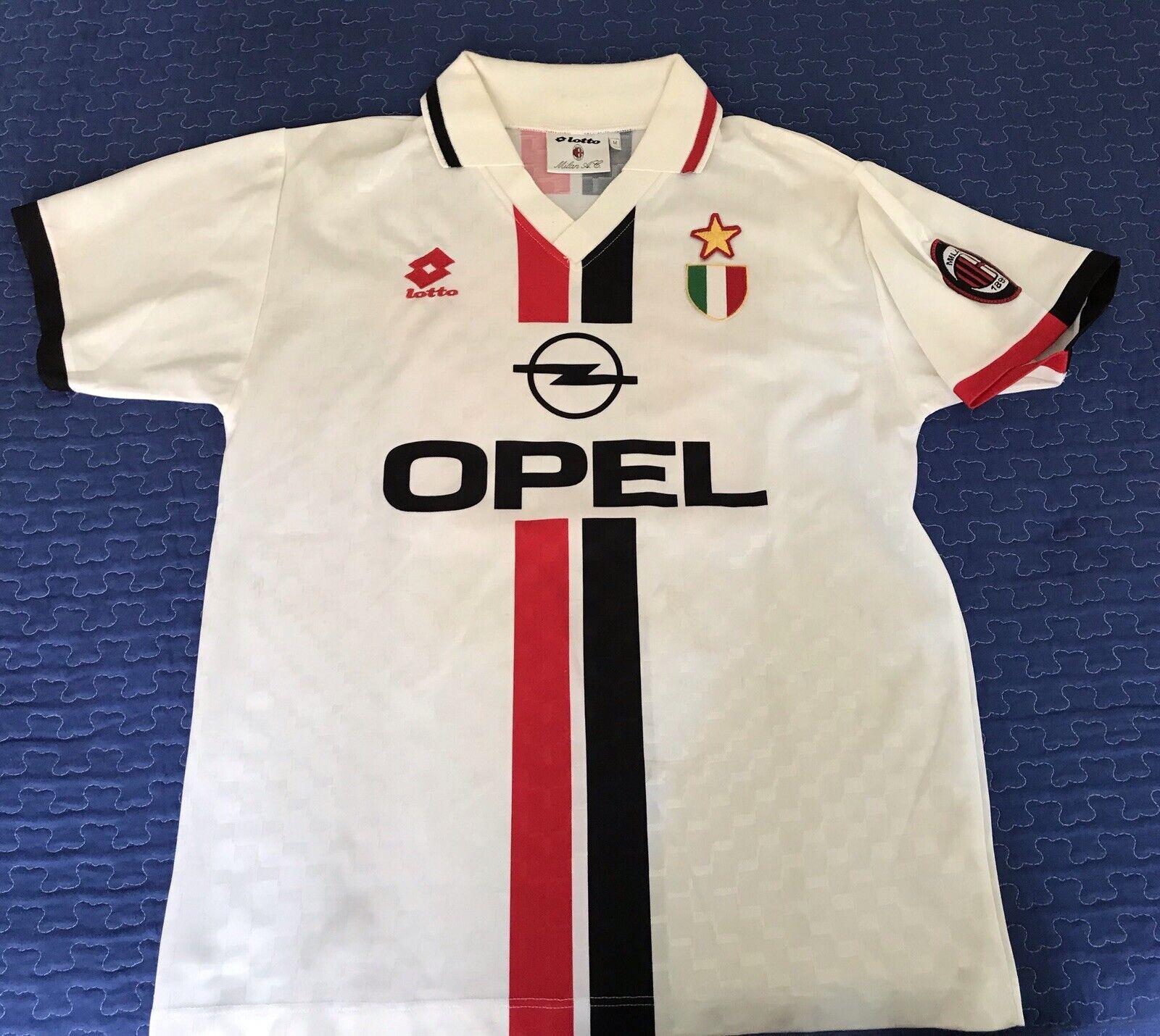 Shirt Maglia Milan 199697 Vintage N. 13 Ibrahim Ba Scudetto Trikot Maglia