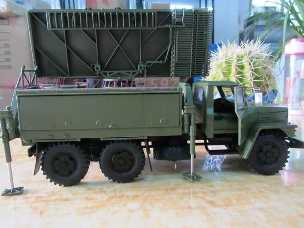 Dong Fang Hong LT665 SUV militär monterad luftförsvarsradarläge (L)