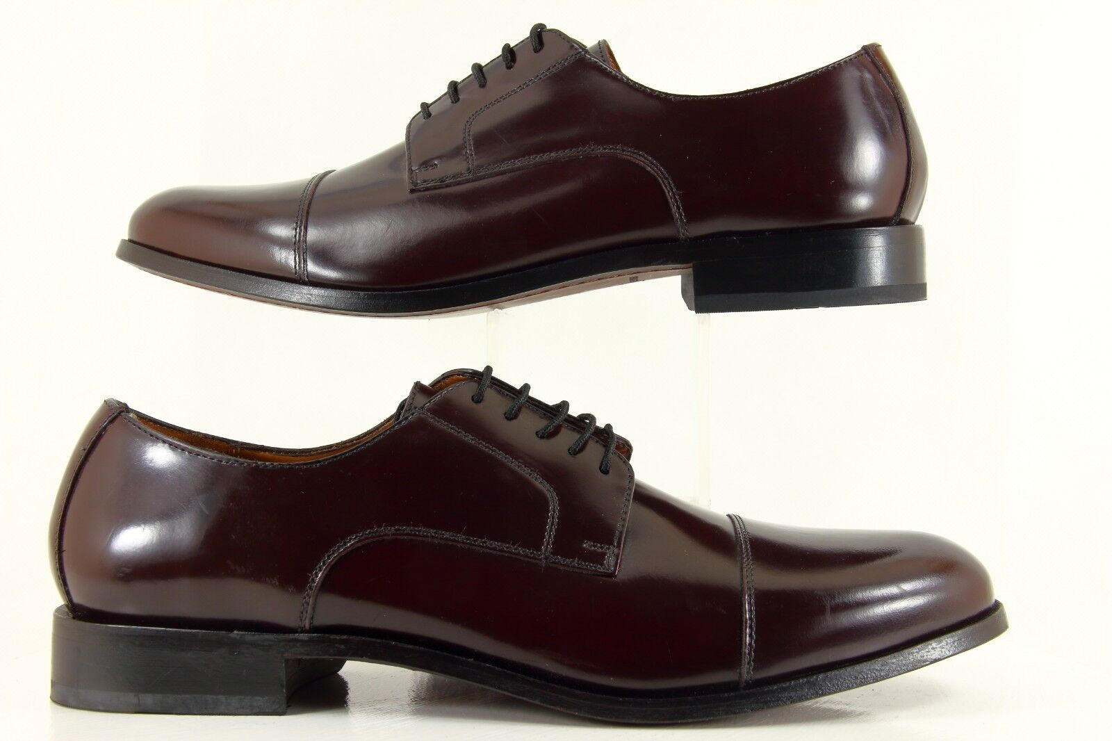 Florsheim Men's Broxton Cap Toe Oxford Burgundy shoes 11222-601 Size 10.5D