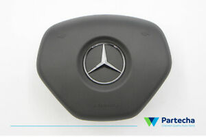 MB-MERCEDES-BENZ-ML-W176-W212-W204-Driver-Air-bag-Steering-Wheel-Airbag-OEM-Gray