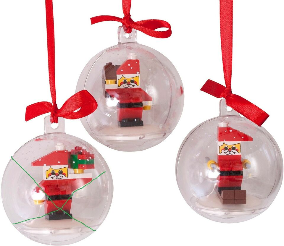 Lego Exclusives, 852744 Build Your Own Holiday Ornaments