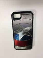 iPhone 6s iPhone 7 Captain America Slim Armor Cell Phone Case Avengers DC Marvel