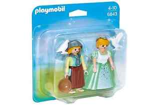 Playmobil-6843-duo-pack-princesa-y-campesina-Princess-Knights