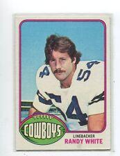 1976 Topps Randy White Dallas Cowboys  158 Football Card for sale ... 9bedd14f1
