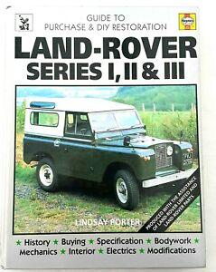 Haynes-Land-Rover-Series-1-2-3-Guide-to-Purchase-DIY-Restoration-Workshop-Repair