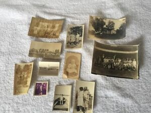 Vintage-Photo-Lot-Of-12-Includes-Indianapolis-State-Fair