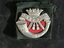 WW1 BRITISH ARMY DUKE OF CORNWALL LIGHT INFANTRY CAP BADGE
