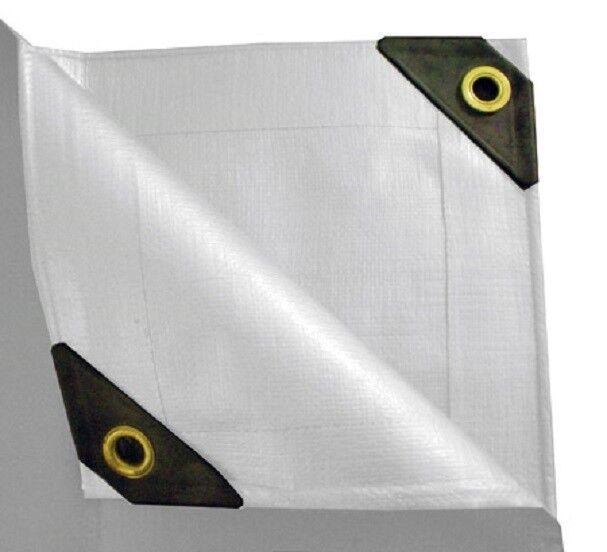 new product f0ad3 702f5 UST 12 x 20 Heavy Duty UV Protected Canopy Tarp - White