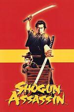 "SHOGUN ASSASSIN Silk Fabric Movie Poster 11""x17"" Kung-Fu Shaolin Wu-Tang"