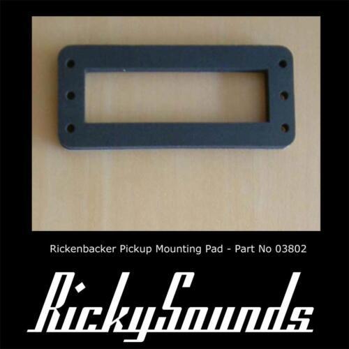 2 X Halterung Pad für Rickenbacker Tonabnehmer,für Hoch Zugewinn,HB1 und Toaster