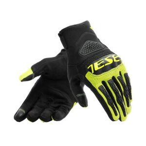 Guanti-moto-Dainese-Bora-nero-giallo-black-yellow-fluo-gloves