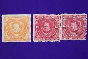 Mexico-Revenue-Timbre-Fiscal-Special-Aduanas-1892-1893-100-pesos-mint-gum