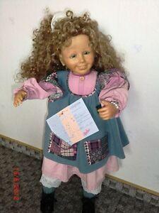 Brigitte Leman Puppe Geli Zertifikat Ebay