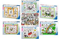 Ravensburger Puzzle 500 Oder 1000 Teile Sheepworld Erwachsenen Puzzle Schaf