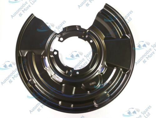 For BMW Series 1 2 3 4 New Rear Left Brake Disc Dust Cover Back Plate Shield