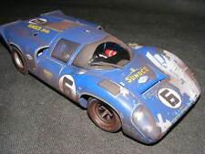 GMP  Lola T70 Sunoco  Daytona  Winner  Rare  Race Damaged  1/18