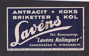 Ancienne étiquette de paquet Allumettes Suède BN22153 Lavens A8gdqPAb-09154350-497696479