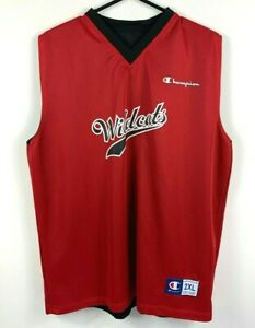 Perth-Wildcats-Champion-Reversible-Basketball-Jersey-Size-2XL-Two-Sided