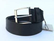 Ceinture belt GIORGIO ARMANI jean cuir taille M, 105 110, NEUF...