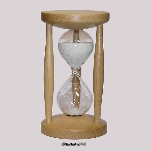 Sanduhr Eieruhr Buche Natur 15 Minuten Sanduhren Kurzzeitmesser