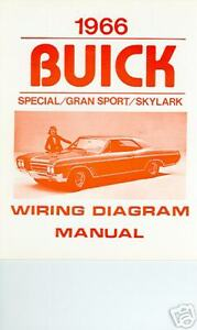 [SCHEMATICS_44OR]  1966 BUICK GS/SKYLARK/SPECIAL WIRING DIAGRAM MANUAL | eBay | 1966 Buick Special Wiring Diagram |  | eBay