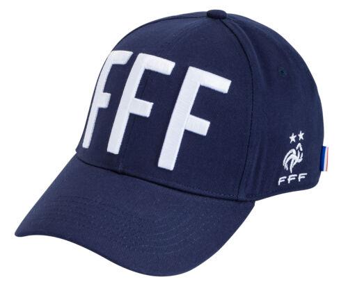 Collection officielle Equipe de France de Football Taille Homm Casquette FFF