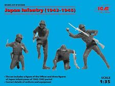 ICM 1/35 Japanese Infantry (1942-1945) # 35568